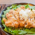 悪魔的柔らか。レンジ5分悶絶のテリヤキ柚子胡椒蒸し鶏(糖質5.8g)