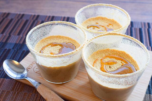 簡単すぎて暇。混ぜ冷や薫る珈琲豆腐花トールーファ(糖質6.4g)