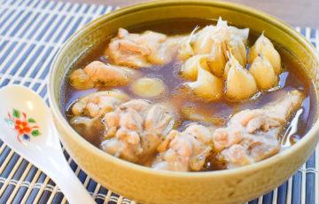 抜群の旨みスープ。本格簡単な極上チキンバクテー(肉骨茶)(糖質8.1g)