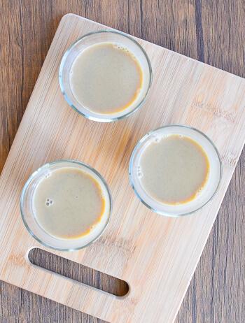 簡単すぎて暇。混ぜて冷やす薫る珈琲豆腐花トールーファ(糖質6.4g)