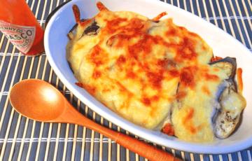 バレない絶品。お持て成しに味噌ナス茸の豆乳チーズラザニア(糖質8.4g)