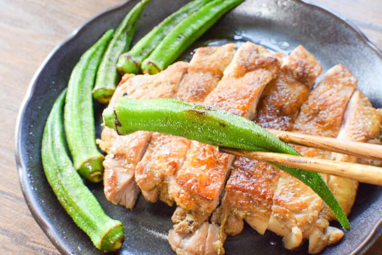 反則的刺激!山椒クミン醤油の絶品パリパリ鶏ステーキ(糖質1.1g)