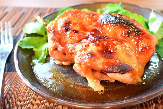 止められぬ肉汁。激簡単な湯煎焼きチキン北京ダック(糖質5.6g)