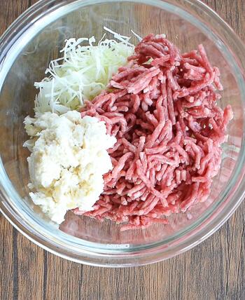 野菜が半分。一気に倍増オーロラ味噌肉汁キャベツハンバーグ(糖質6.9g)