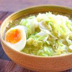 〆に飲み干し!海鮮鶏出汁のトロトロキャベ滝ラーメン(糖質8.5g)