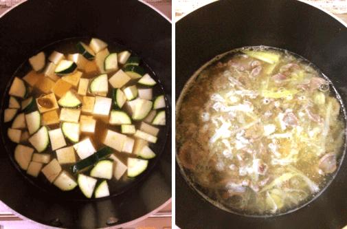 ゆで汁を使った、脂肪燃焼スープ作成