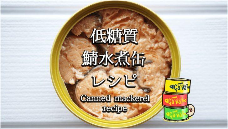 ダイエットに最強!低糖質で美味しい鯖水煮缶レシピ集