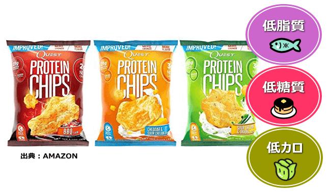 Quest Nutritionプロテインチップス(タンパク質20.0g)