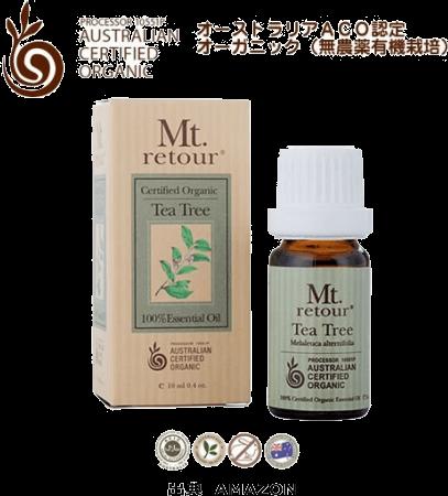 Mt. retour ACO認定オーガニック ティーツリー(無農薬有機