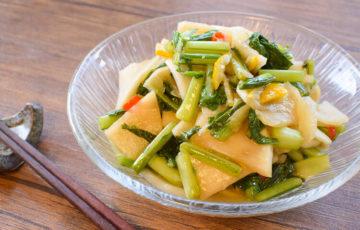 (完)まるで果物!美味しい野沢菜風の柚子カブ絶品お漬物(糖質7.3g)