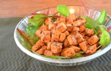 超かりふわ!ガーリッククミンのサクサク豆腐クリスピー(糖質2.6g)