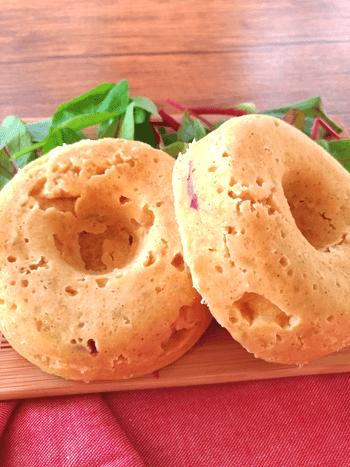 超芋三昧!シナモン薫るおからサツマイモ蒸しパン(糖質1個19.7g)