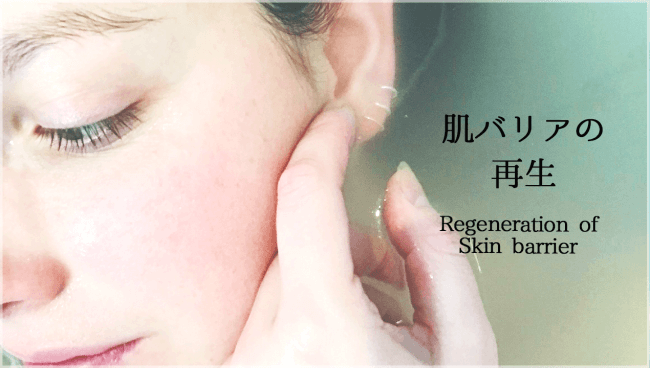肌断食の目的⓶ 肌バリアの再生