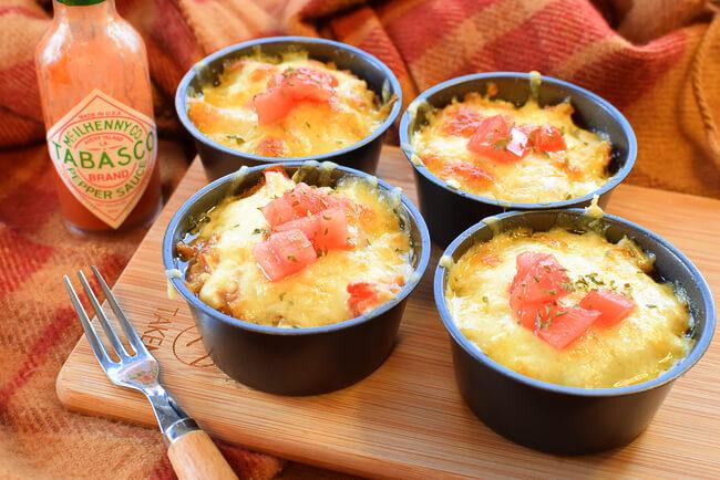 エキス増量中!まるでスープの肉汁オーブンチーズタコス(糖質6.5g)