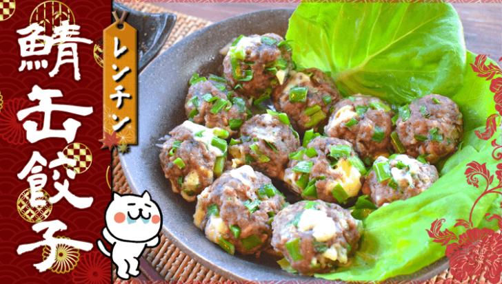 鯖好き悶絶!山椒酢胡椒の極上鯖缶チーズポーク餃子(糖質5.2g)