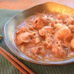 砂糖・水なし!玉葱甘みの絶品黒酢赤ワイン鶏角煮(糖質9.4g)