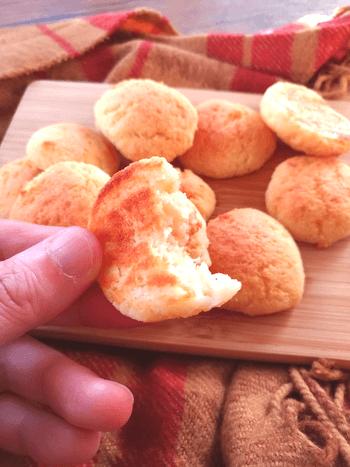 これジャガ芋?激カリもっち塩バターチーズおからポンデージョ(糖質1個2.7g)