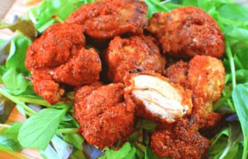 大好きKFC!自宅で絶品鶏ももスパイシー香味チキン(糖質13.3g)