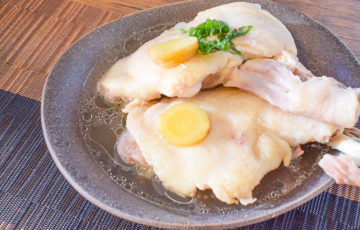 エキスも納得!お鍋で蒸し倒す絶品ホロホロ酒塩蒸し鶏(糖質2.3g)