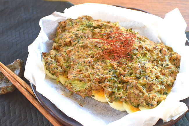 中から奴が!サバブロッコリーの絶品クリチマスタード焼き(糖質6.2g)