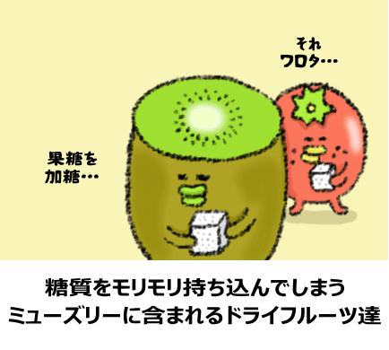 糖質の高いドライフルーツ