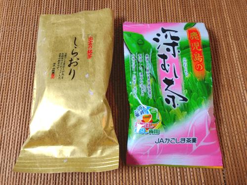 高級なお茶と安価なお茶