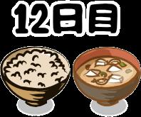 玄米7号食12日目
