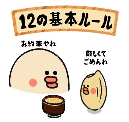 玄米7合食の細かなルール