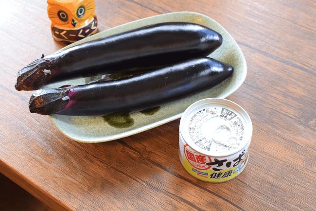 シンプルだから丁寧に!サバ缶こだわり無限ナス常備菜(糖質5.6g)