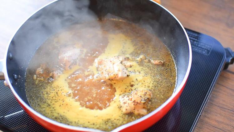 最速ぶっちぎり!喉鳴る本格バジル味噌バタースープカレー(糖質7.8g)