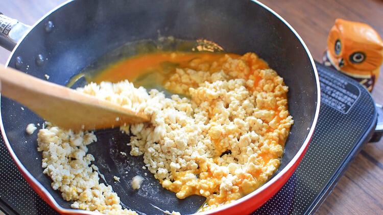 即売り切れ!焦がし胡麻サバの豆腐そぼろちらし寿司(糖質6.6g)