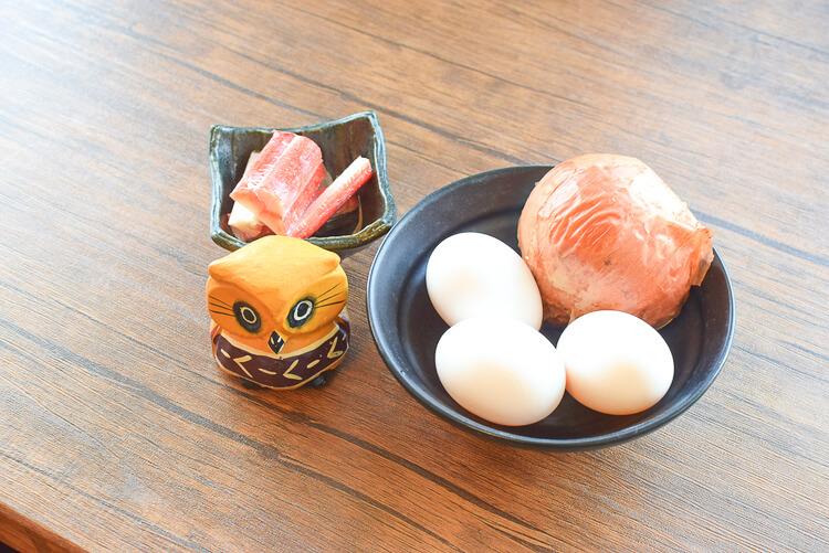 ふわり激楽!簡単美味なカニカマトマトスクランブルオムレツ(糖質7.5g)