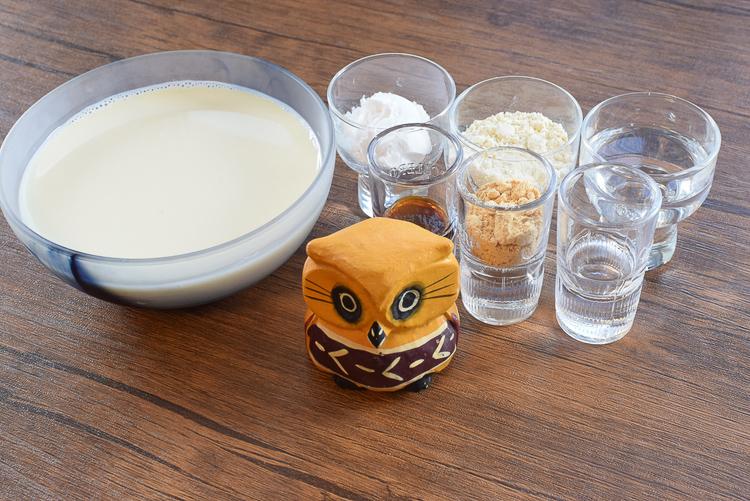 追求舌触り!速攻できる固めない牛乳みたらしクリーム(糖質12.9g)