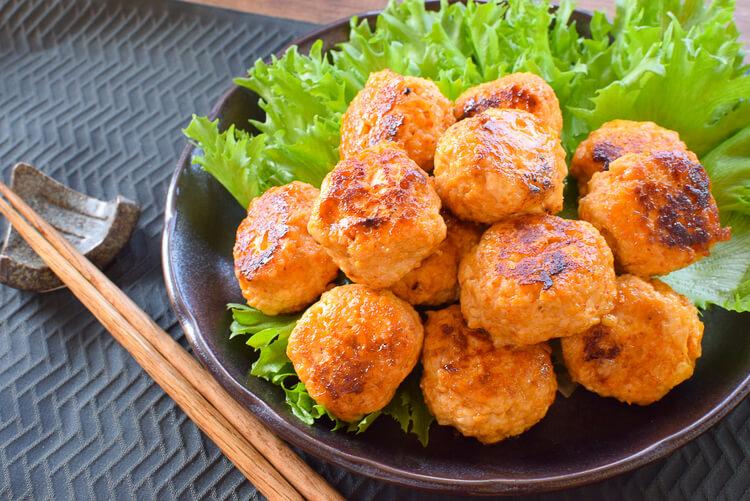 勝手に新作!山盛り最高レッドゴーダチーズ豆腐からあげくん(糖質5.7g)