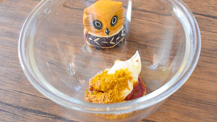 100円ご馳走計画!甘辛最高な厚揚げマスタードチーズタンドリー(糖質4.8g)