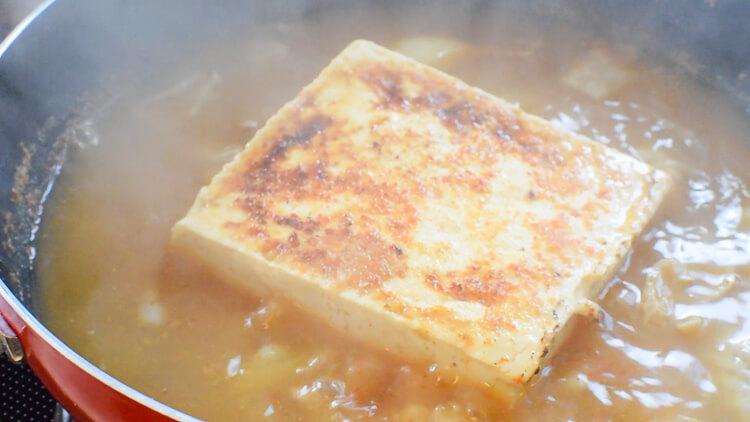 ホルモン激旨!簡単&美味な沁みる激辛山椒ホルモン豆腐(糖質9.9g)